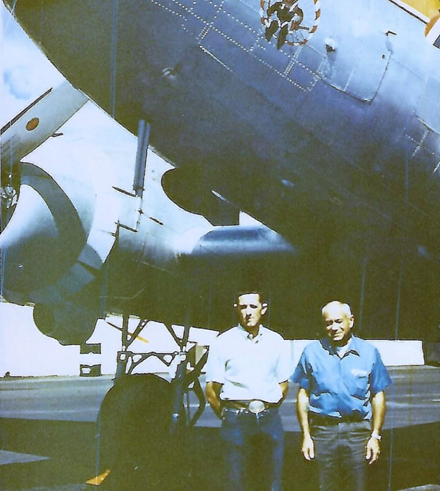 Bob Galbraith and Eldon Down DC-3 Pilots 1970