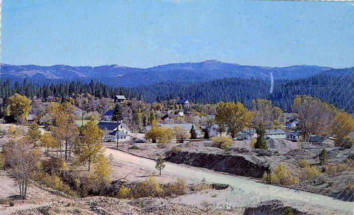 "Idaho City, the ""Rock Pile"" in 1950"