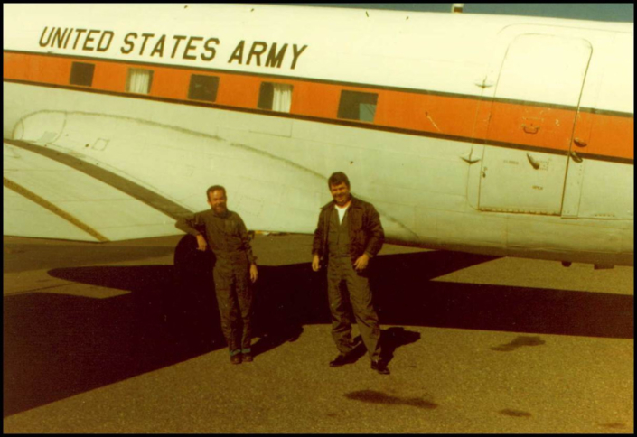 Stan McGrew and Chris Hayne Welcome new DC-3