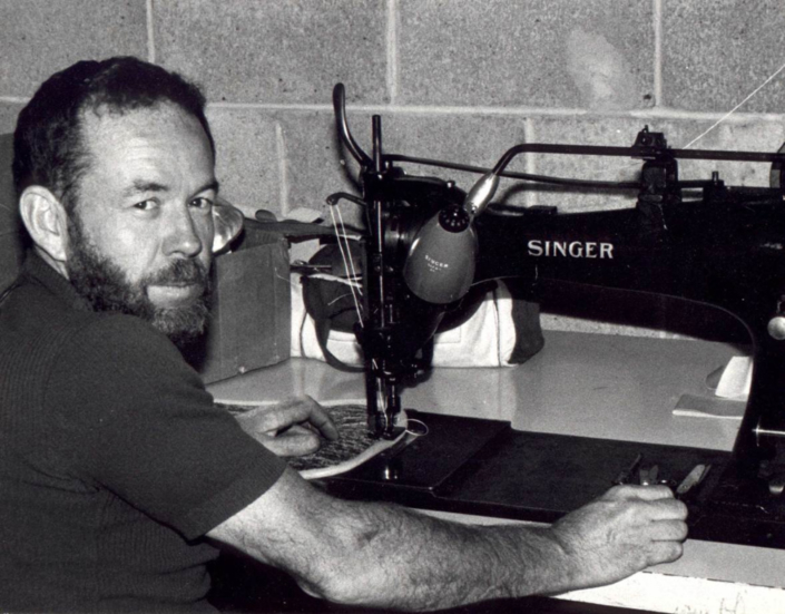 Stan McGrew Always Found a Sewing Machine